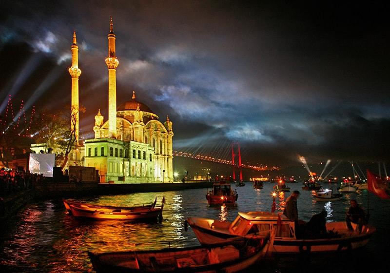 مسجد أورناكي في اسطنبول