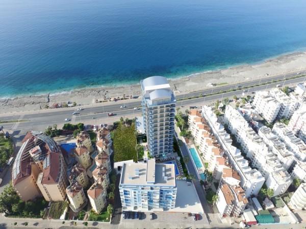 مشروع سكني جديد رائع على شاطئ البحر في ألانيا