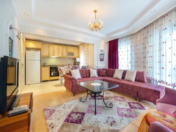 شقة للبيع غرفتين نوم مفروشة بالكامل في ألانيا