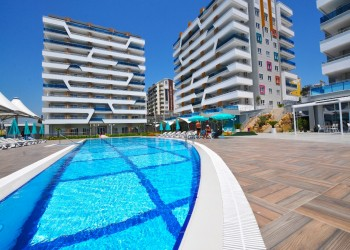 Safe and comfortable family living near the best beach in Alanya