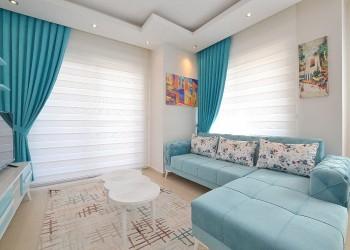 شقة للبيع غرفة نوم واحدة مفروشة بالكامل وجاهزة للسكن في ألانيا