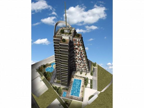 موقع مركزي لمجمع بتصميم حديث في اسطنبول