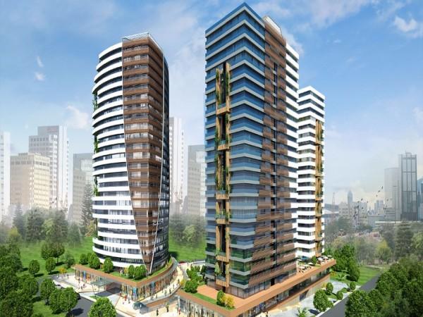 مساكن حديثة مذهلة في مجمع رائع مع مرافق ممتازة في كاديكوي